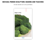 Michael Pennie - Making and Teaching or Why I Became Such a A Peculiar Person