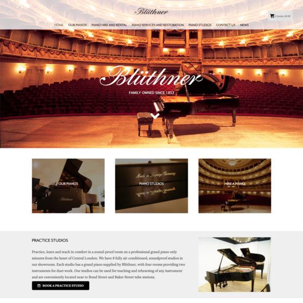 Blüthner Pianos